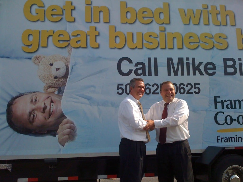 Get in Bed with Mike