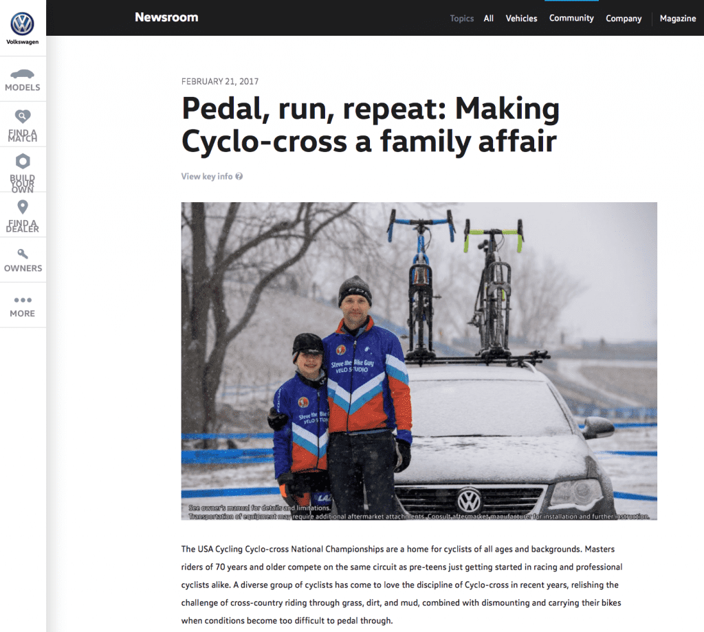Pedal, run, repeat: Making Cyclo-cross a family affair
