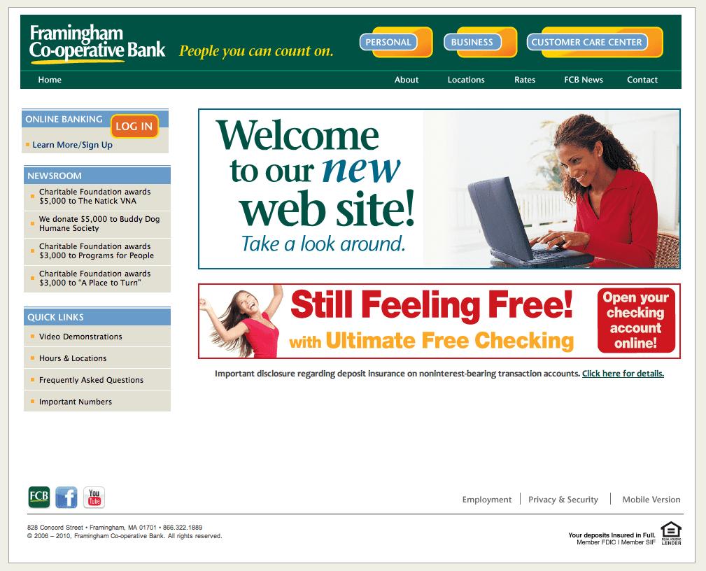 A new site for Framingham Bank