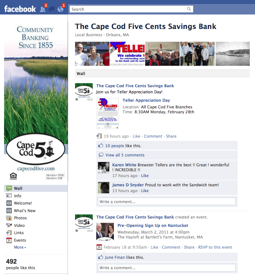 Facebook Pages They Are A-changin'