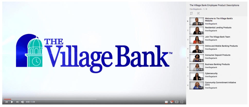 Village Bank Videos