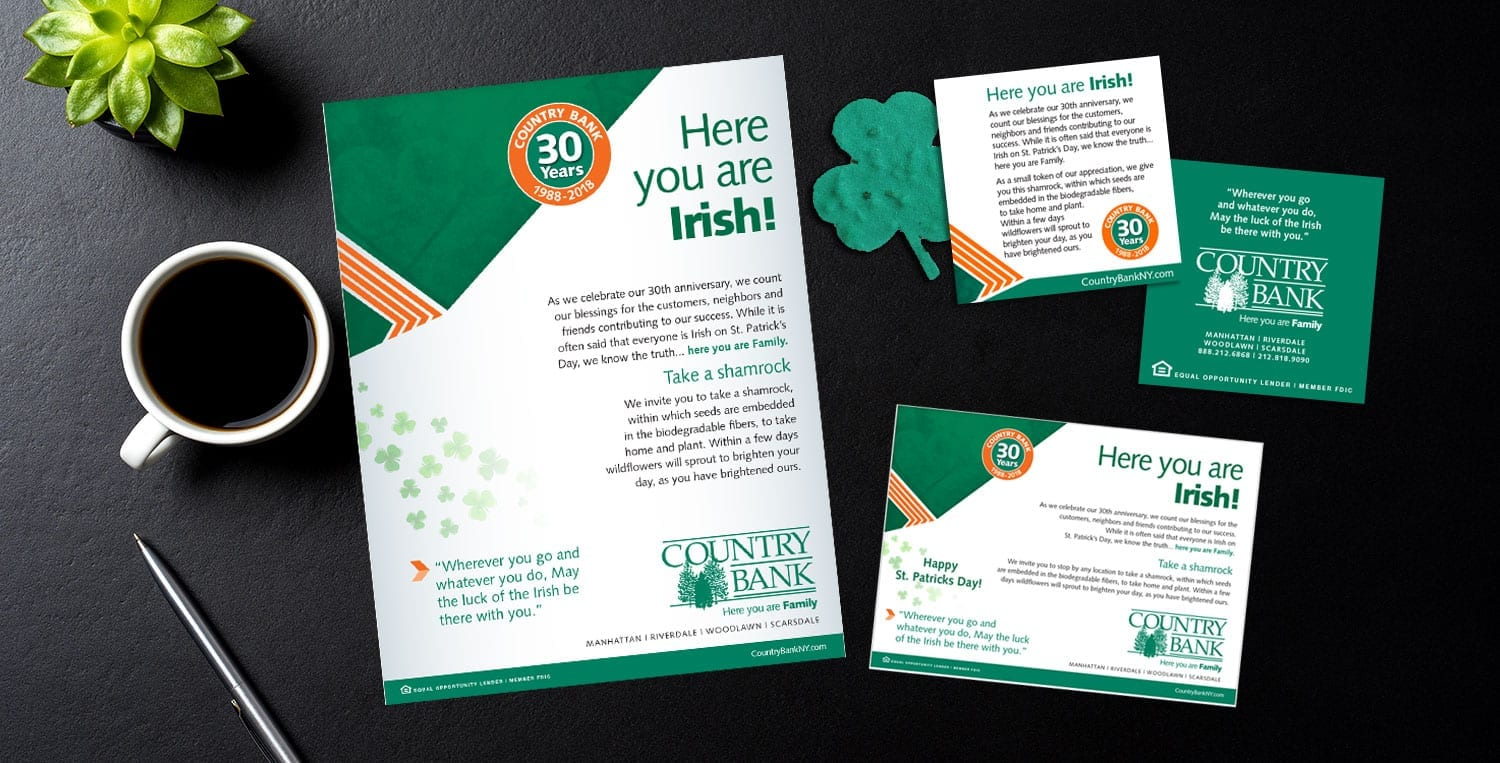 Country Bank Irish Celebration